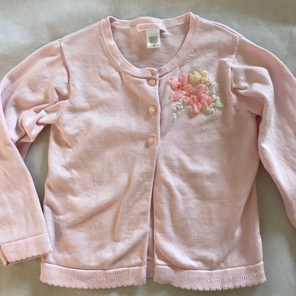 Janie and Jack Other - Janie and Jack Time for Tea 4T cardigan pink